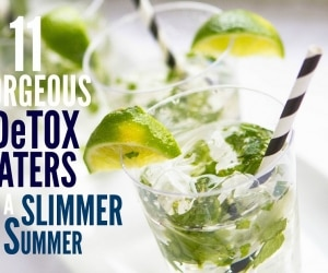 11 Detox Waters for a Slimmer Summer