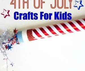 4th of july crafts for kids featured image