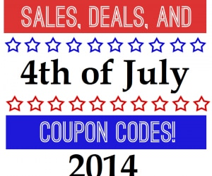 4th of july online savings