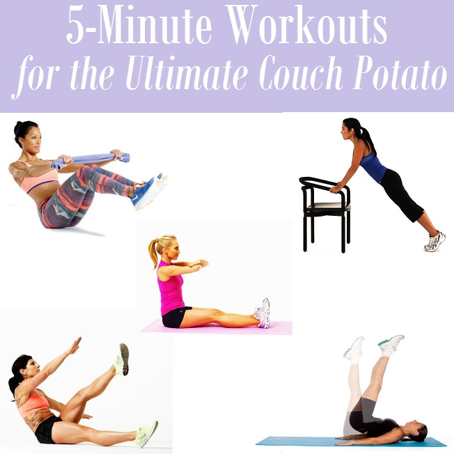 5 Minute Workouts For The Ultimate Couch Potato Thegoodstuff