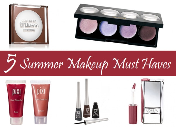 5 summer makeup must haves