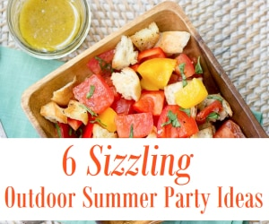 6 sizzling summer party ideas