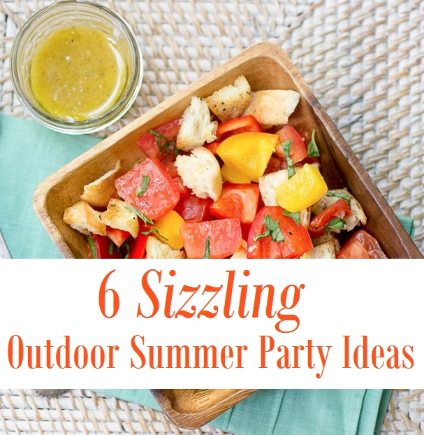 6 sizzling outdoor summer party ideas thegoodstuff for Summer food party ideas