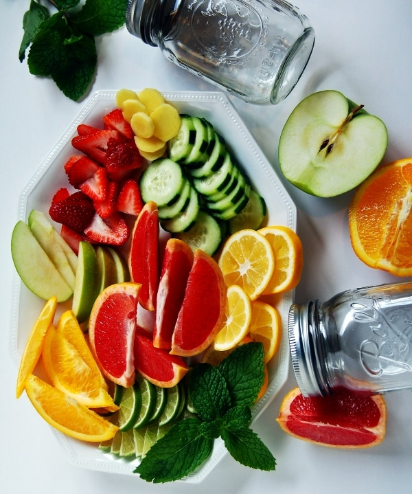 Slim Down with 12 Tasty Homemade Detox Water Recipes | thegoodstuff