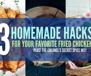 fried chicken recipe hacks
