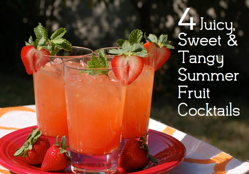 4 juicy sweet and tangy summer fruit cocktails thegoodstuff for Fruity mixed drinks recipes