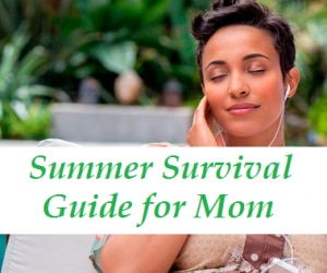 summer survival guide for mom featured