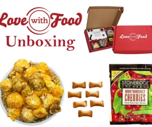 love with food unboxing