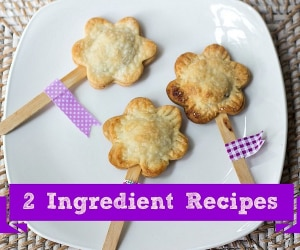 time saving two ingredient recipes