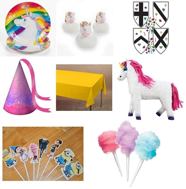 Agnes Unicorn Princess party