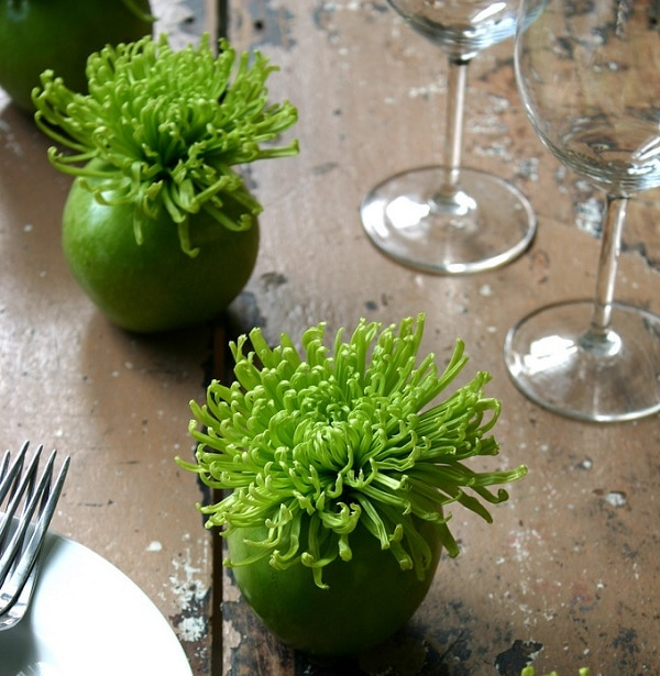 Apple Vases