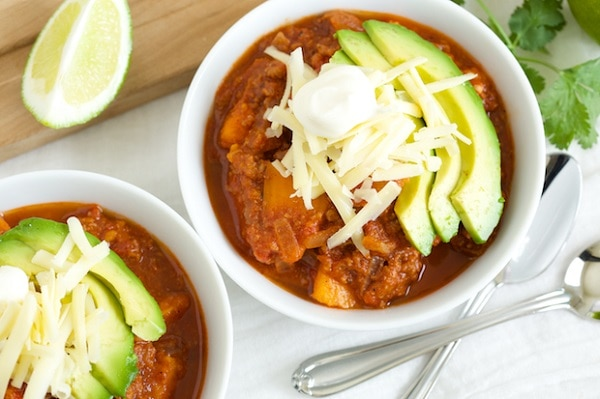 12 Super Easy Healthy Crock Pot Chili Recipes