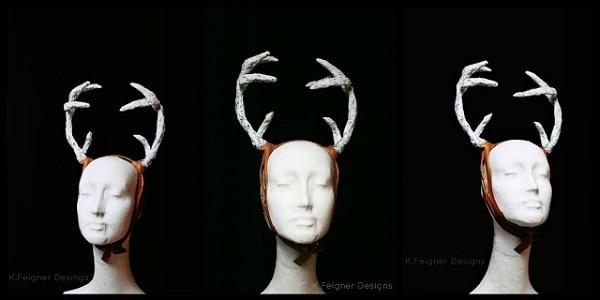 Deer Antlers Headpiece