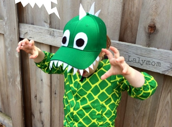 Dinosaur Hat headpiece