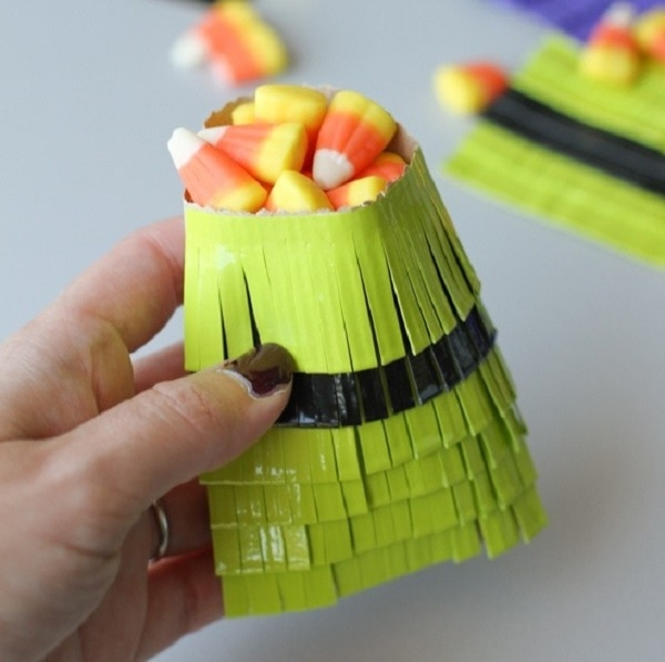 Duct Tape Halloween Treat Bags