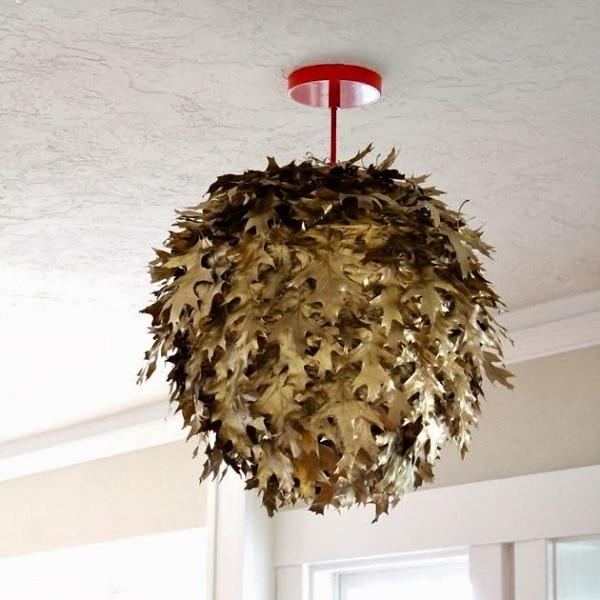 Fallen Leaf Chandelier