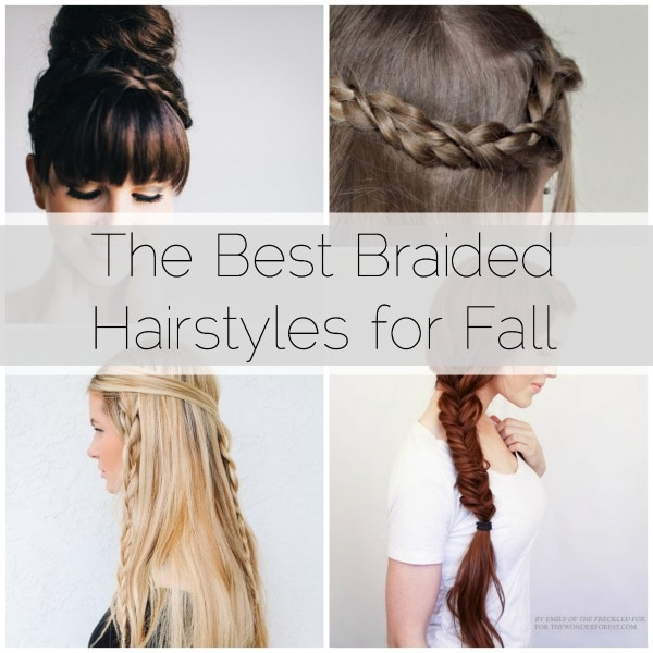 Foolproof Braided Hairstyle Tutorials For Fall