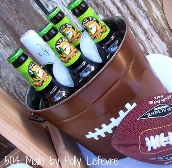 Football Drink Tub