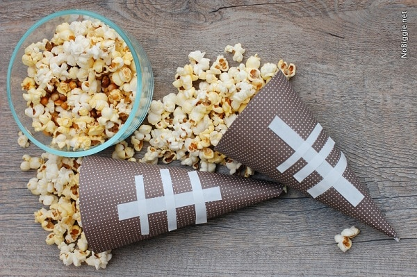 Football Food Cones