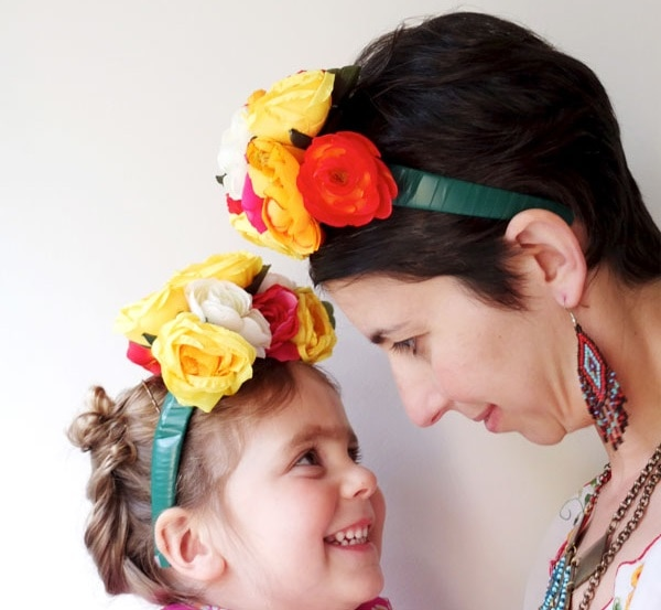 Frida Floral Headband headpiece
