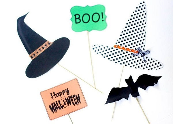 Halloween DIY Photo Props