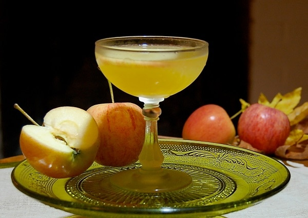 Johnny A Cider Martini