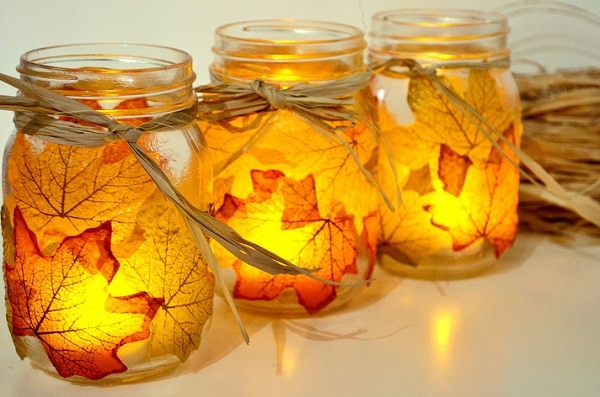 Leaf Candle Votives
