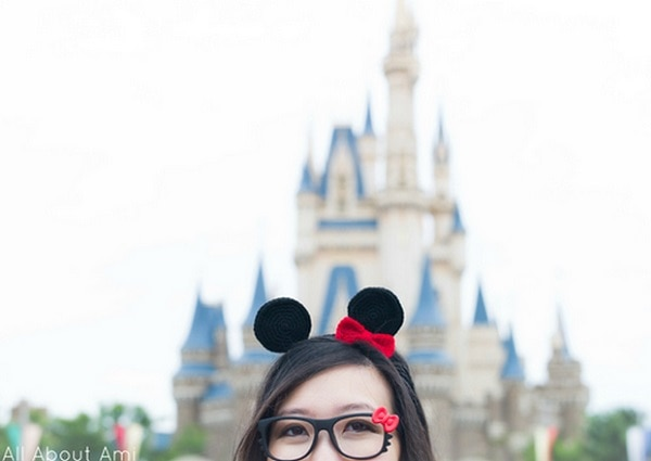 Minnie Mouse Ears headpiece