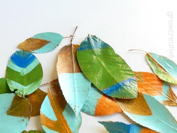 Painted Fallen Leaves