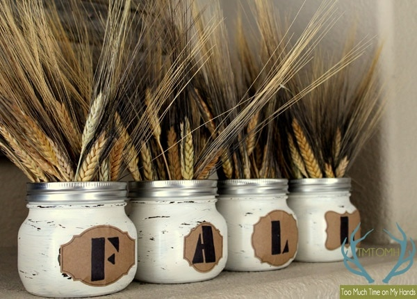 Rustic Wheat Centerpiece