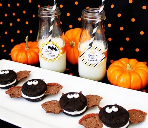 Vampire Bat Cookies