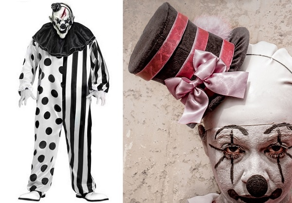 american horror story freak show clown costume