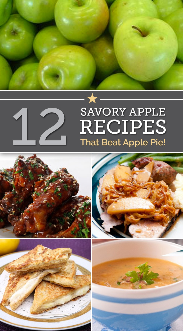 12 Savory Apple Recipes The Beat Apple Pie | The Good Stuff