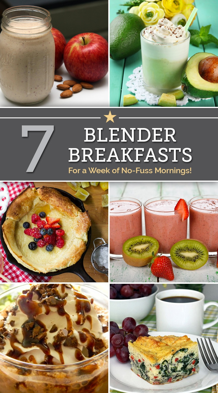 7 Blender Breakfasts for a Week of No-Fuss Mornings | The Good Stuff
