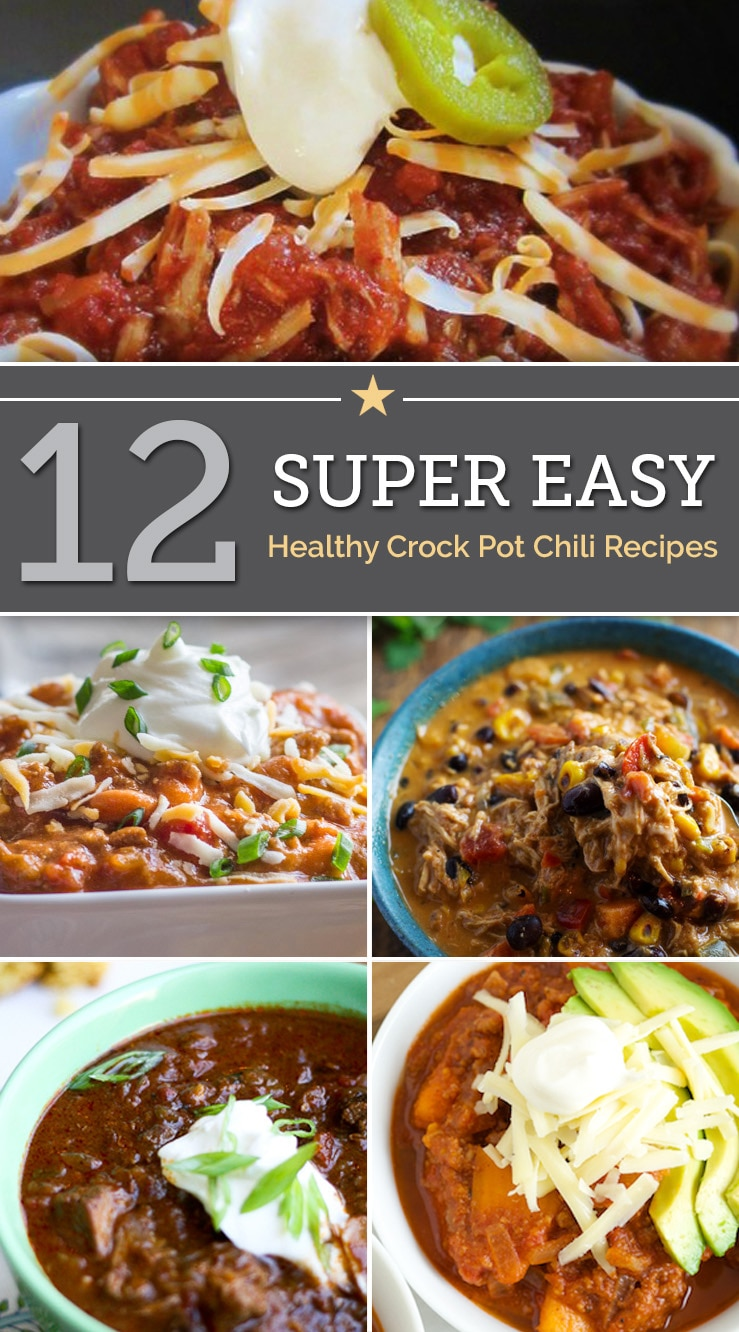 12 Easy Step By Step Natural Eye Make Up Tutorials For: 12 Super Easy Healthy Crock Pot Chili Recipes