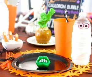 How to Throw a Dollar Store Halloween Party for Kids