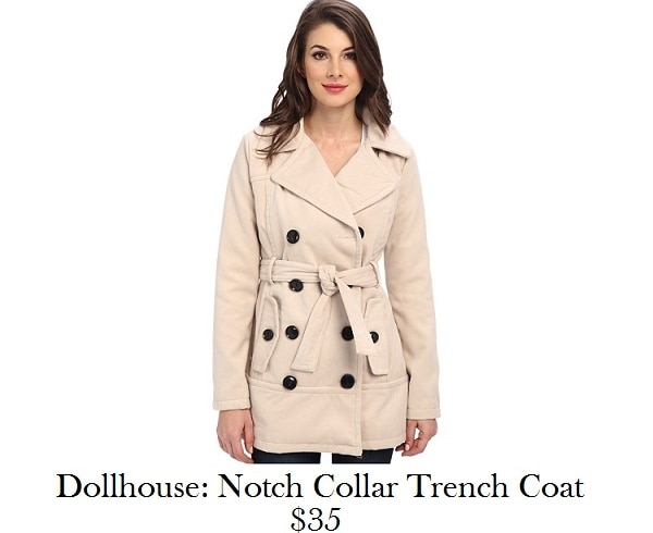 dollhouse trench coat