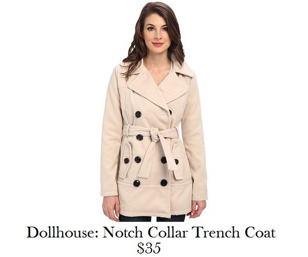 dollhouse trench coat