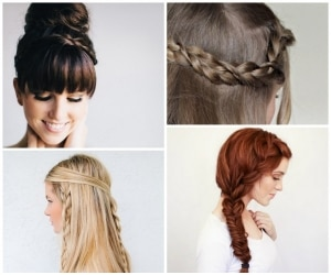 fall braided hairstyle tutorials
