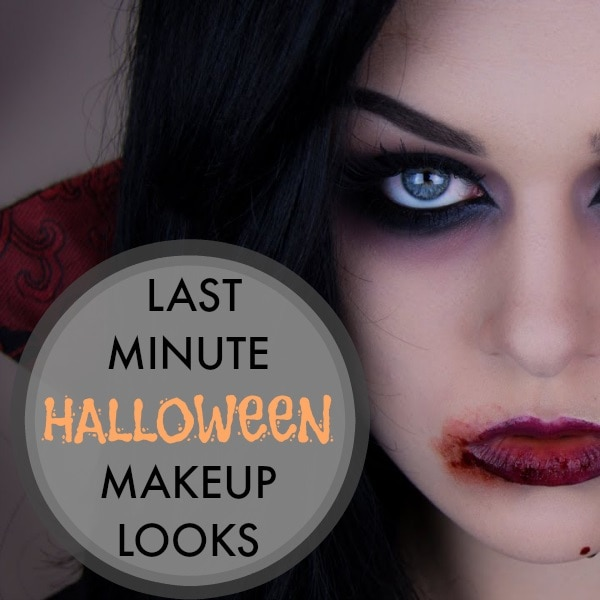 last minute halloween makeup ideas thegoodstuff. Black Bedroom Furniture Sets. Home Design Ideas
