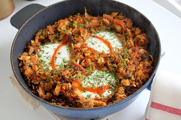 leftover-turkey-chorizo-hash