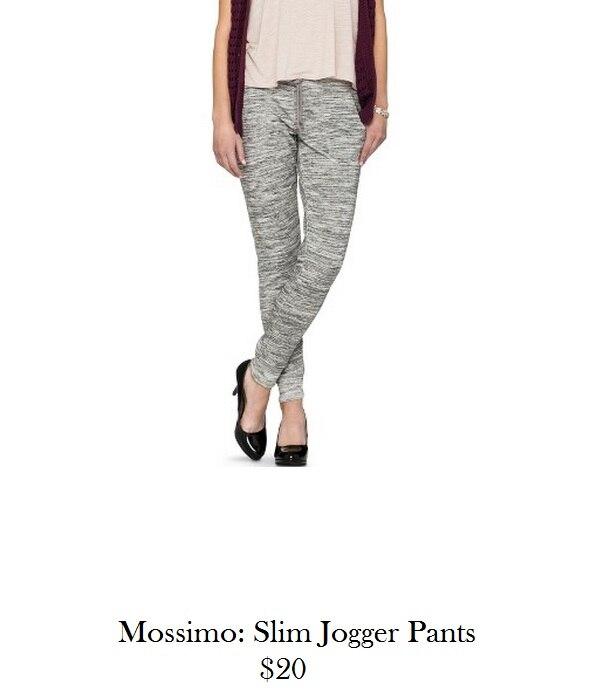 mossimo jogger pants