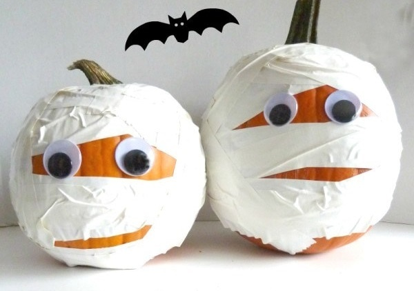 Mummy Pumpkins Awesome Ideas