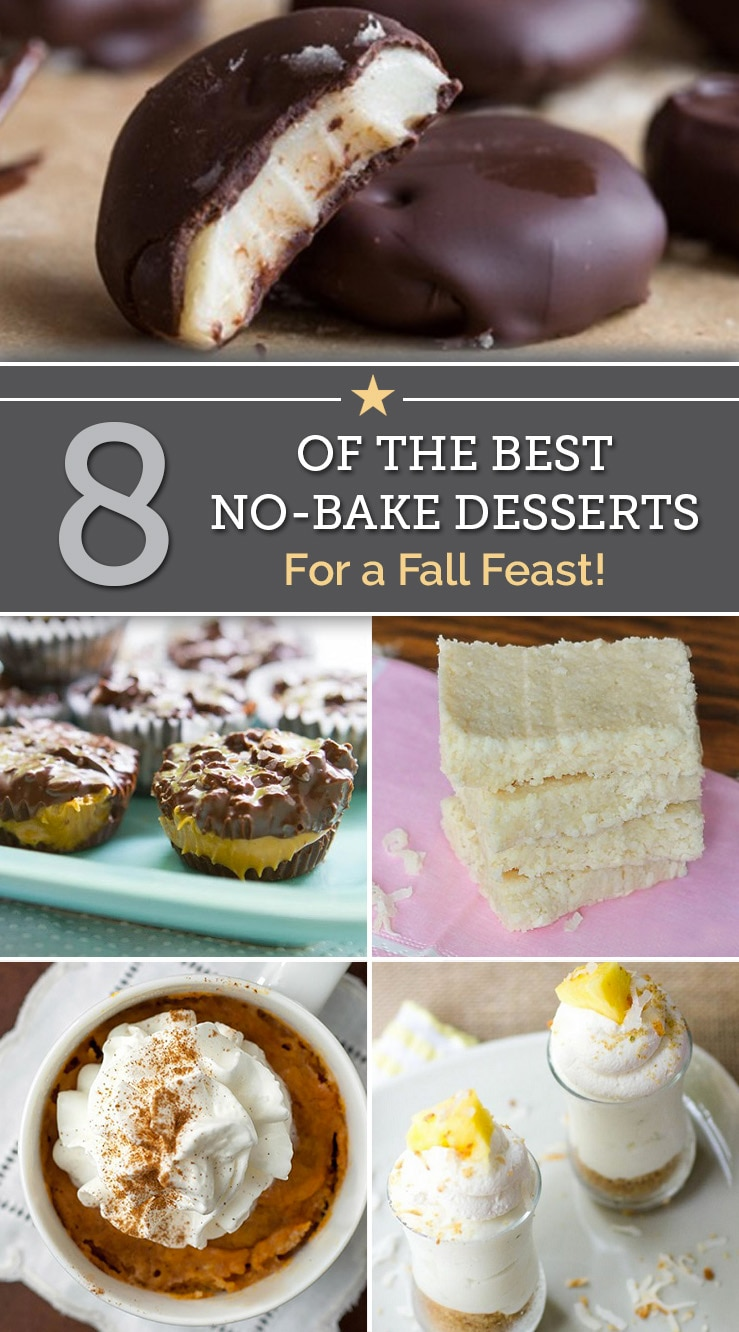 8 of the Best No-Bake Desserts For a Fall Feast | The Good Stuff