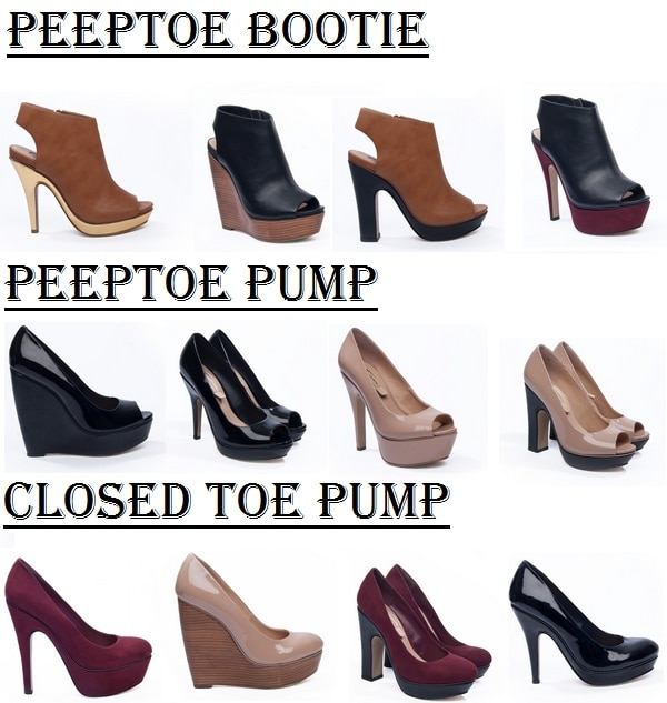 oneclique shoe styles