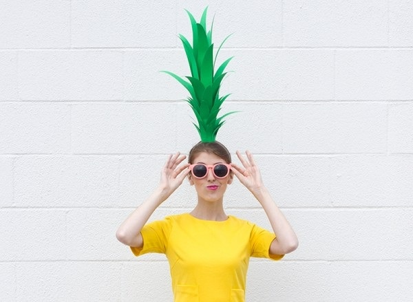 pineapple headpiece