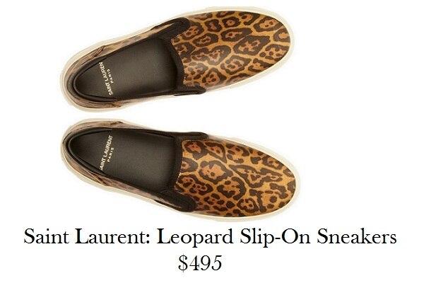 saint laurent slip on sneakers