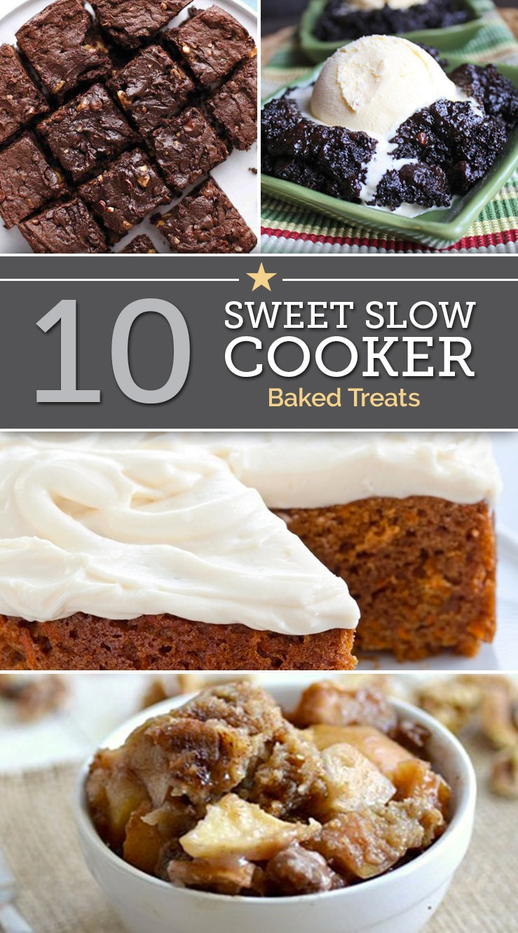 10 Sweet Slow Cooker Baked Treats | The Good Stuff