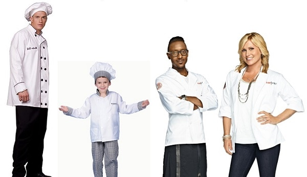 top chef costumes