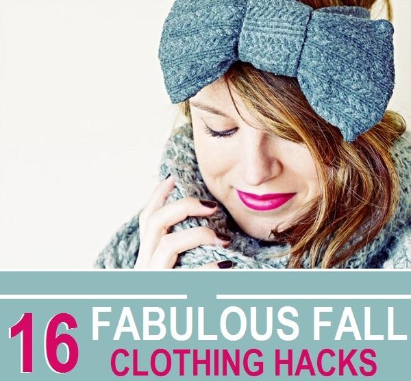 16 Fabulous Fall Clothing Hacks